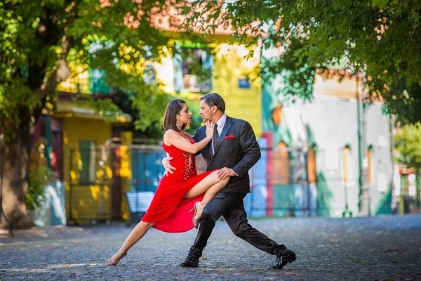 Argentine Tango in Caminito Street