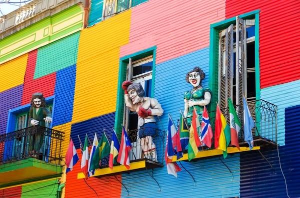 La Boca Neighborhood, Buenos Aires