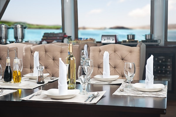 Luxury Galapagos Cruise - Dining