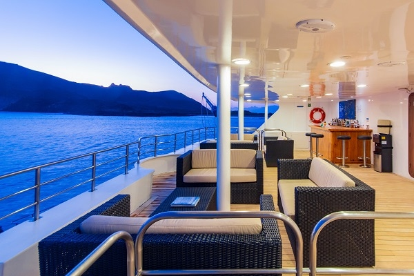 Luxury Galapagos Cruise - Observation Deck