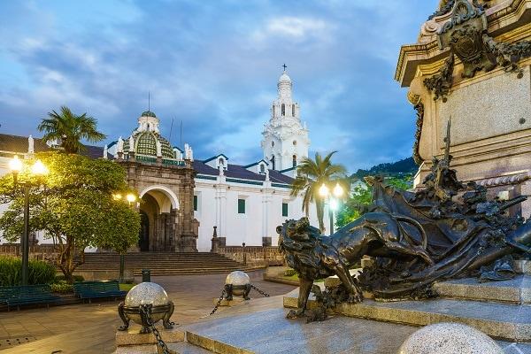 Colonial Quito, Ecuador.