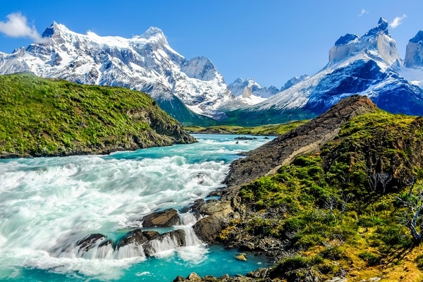 Salto Grande Waterfall, Torres del Paine National Park
