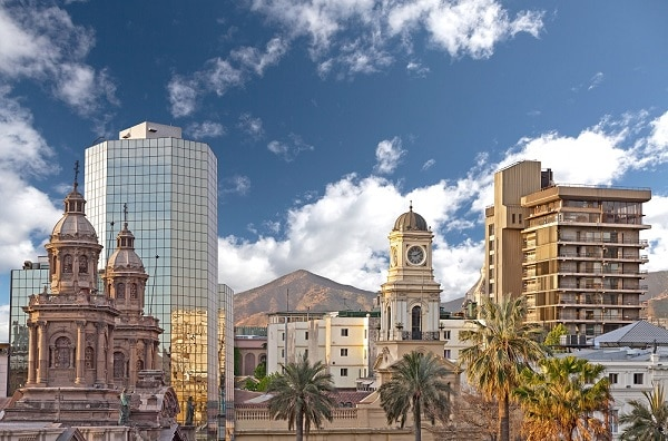 Santiago de Chile, Colonial and Modern