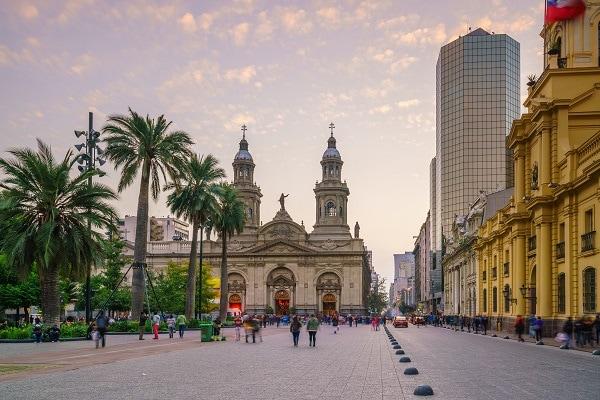 Santiago de Chile - Plaza de Armas