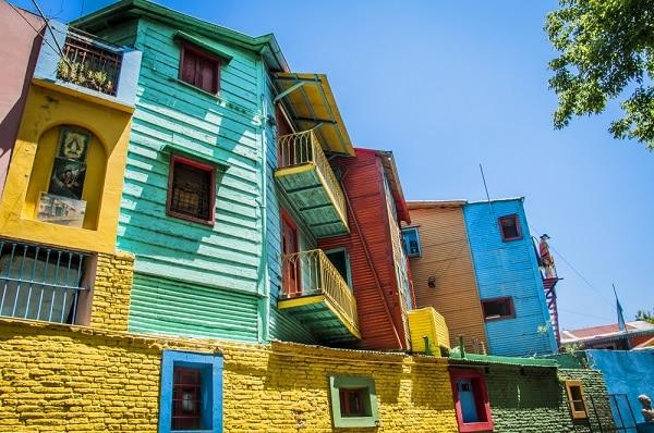 Caminito Street, La Boca Neighborhood, Buenos Aires