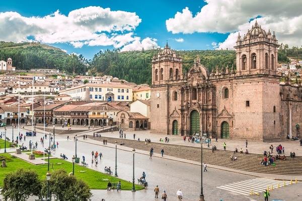 Cusco Cathedral, Plaza de Armas, Peru