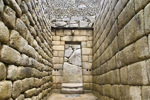 Entrance to the Royal Sector, Machu Picchu