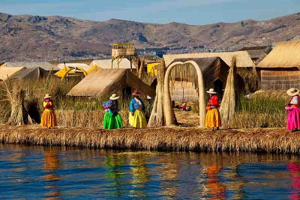 Floating Uros Islands, Peru