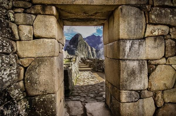 Huayna Picchu from Machu Picchu