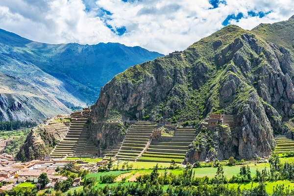 Inca Fortress of Ollantaytambo