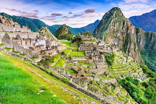 Inca Ruins, Machu Picchu, Peru
