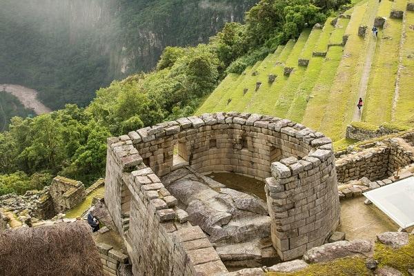 Inca Temple of the Sun, Machu Picchu