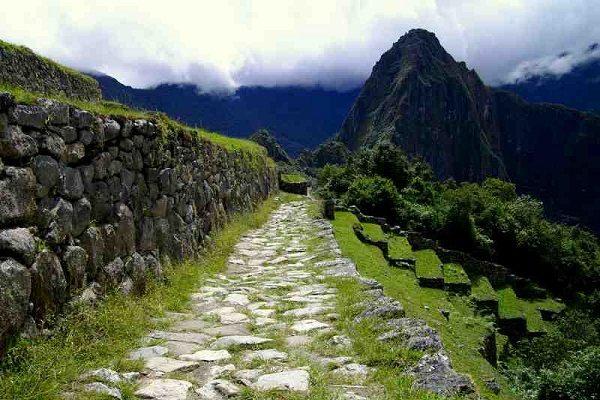 Inca Trail,  Arriving at Machu Picchu