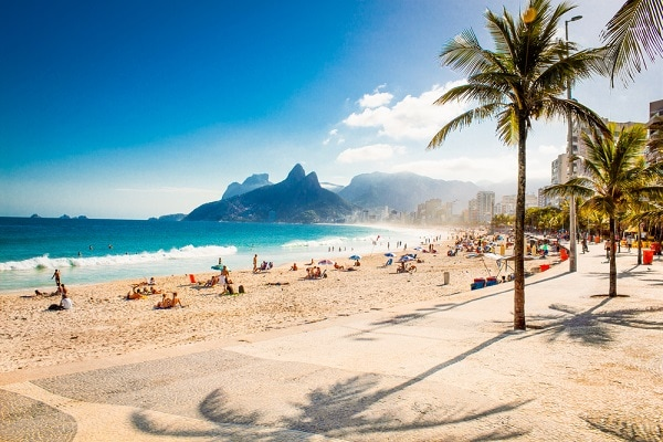 Ipanema Beach, Brazil Vacations