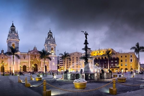 Colonial Lima, Plaza Mayor