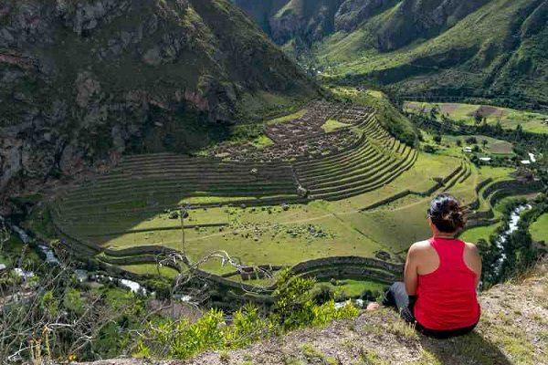 Llactapata Ruins, Inca Trail, Peru