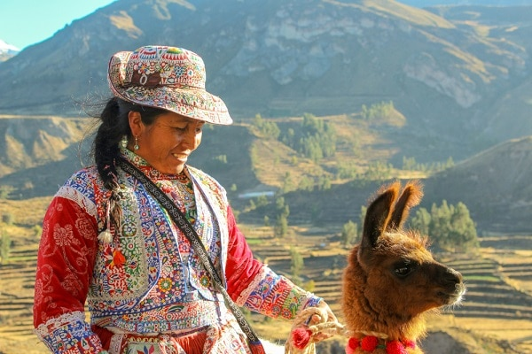 Traditional Dress from the Colca Region