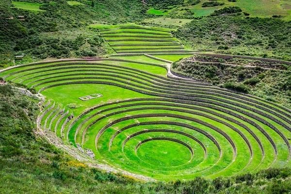 Inca Ruins of Moray, near Sacred Valley