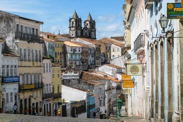 Brazilian Town of Salvador