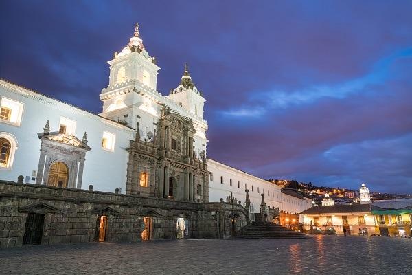 Plaza de San Francisco, Quito, Ecuador