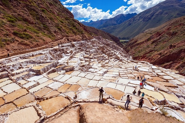 Pre-Inca Salt Pans of Maras, Sacred Valley
