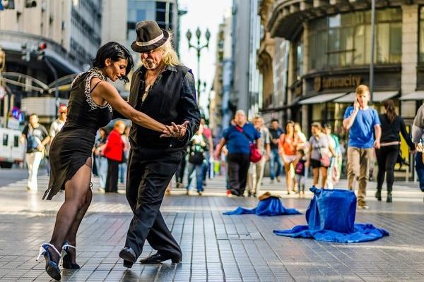 Tango Dancers, Buenos Aires