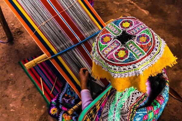 Traditional Weaving, Peru