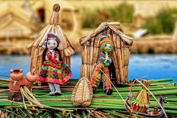 Lake Titicaca Uros Islands Dolls and Houses