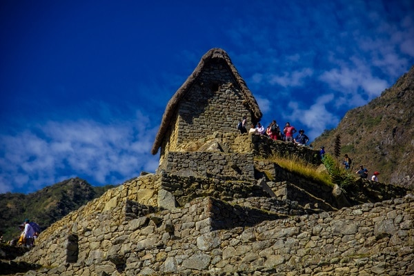 Caretakers Hut, Machu Picchu