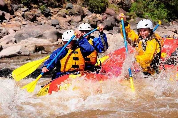 White water rafting, Cusco
