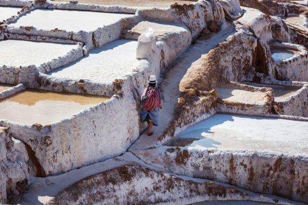 Maras Salt Pans - near the Sacred Valley