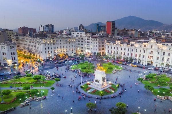 Historic Lima - Plaza Mayor