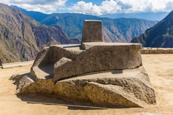 the Sacred Intihuatana, Machu Picchu