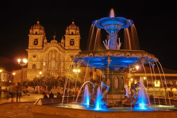Colonial Cusco, Plaza de Armas
