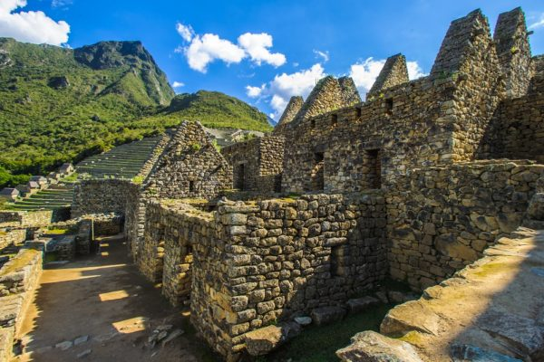 Dwellings at Machu Picchu