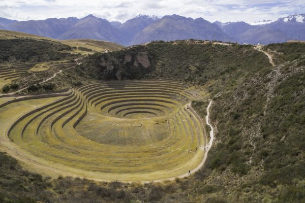 Inca Concentric Circular Terraces at Moray