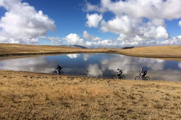 Mountain Biking - Lake Huaypo