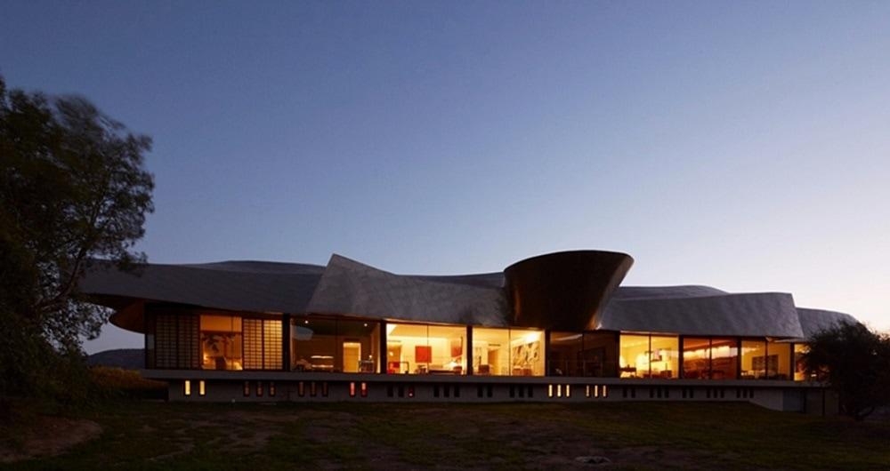 dusk image of Vik Hotel Chile