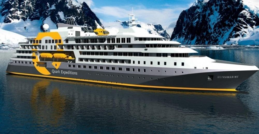 Patagonia Cruise Ship, sleek style