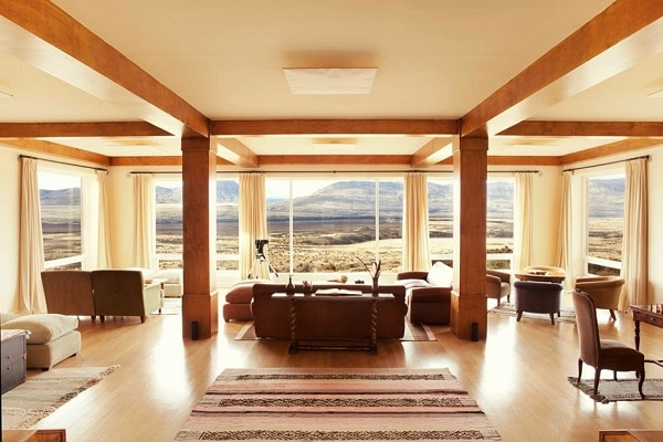Eolo Patagonia - Lounge with a View