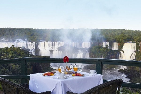 Breakfast with a View - Belmond Das Cataratas