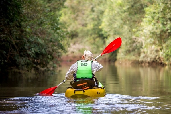 Kayaking Iguazu - Awasi Hotels