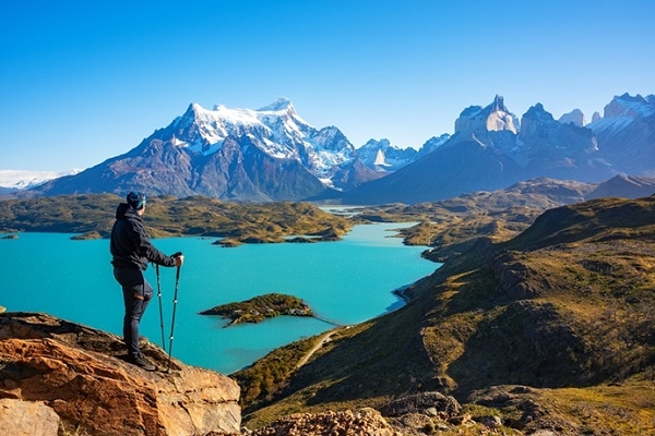 Lake Pehoe Torres Del Paine National Park