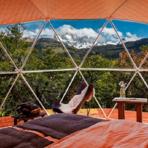 Glamping Tent Dome Accommodation