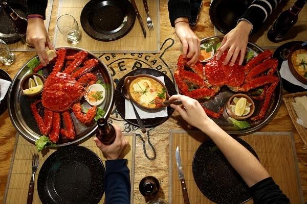 Crab Fishing - Gourmet Lunch