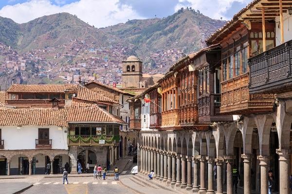 Colonial Cusco - Plaza de Armas