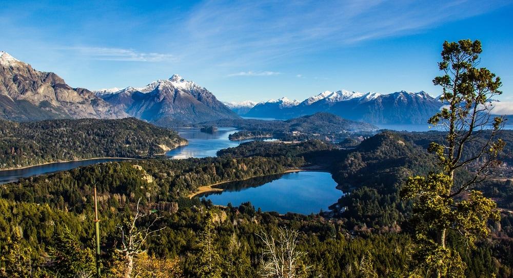 Nahuel Huapi Lake - Panoramic Vista