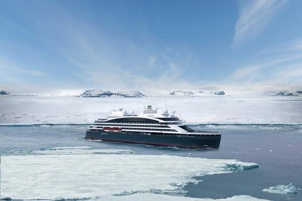Antarctic Cruise Ship Le Commandant Charcot