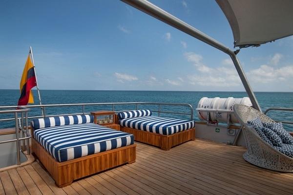 Luxury Cruise Origin Yacht - Sun Deck