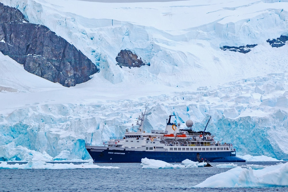 Quark Ocean Adventurer cruise in Antarctica